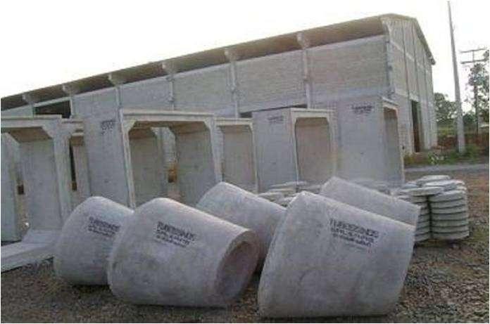 Canos de concreto preço