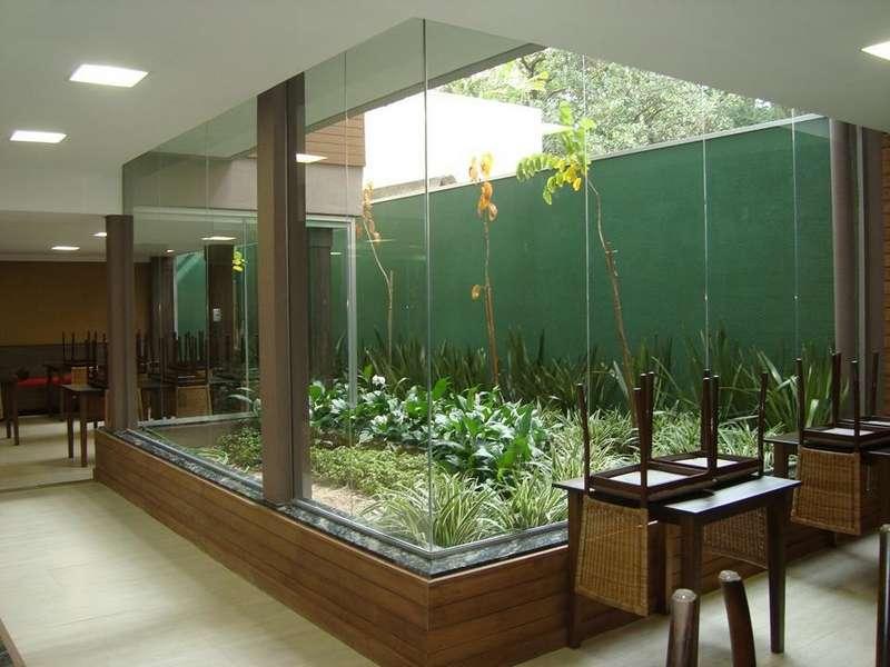 Empresa de fachada de vidro