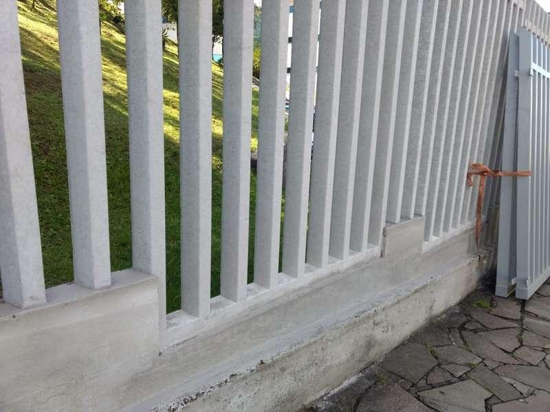 Muro gradil preço