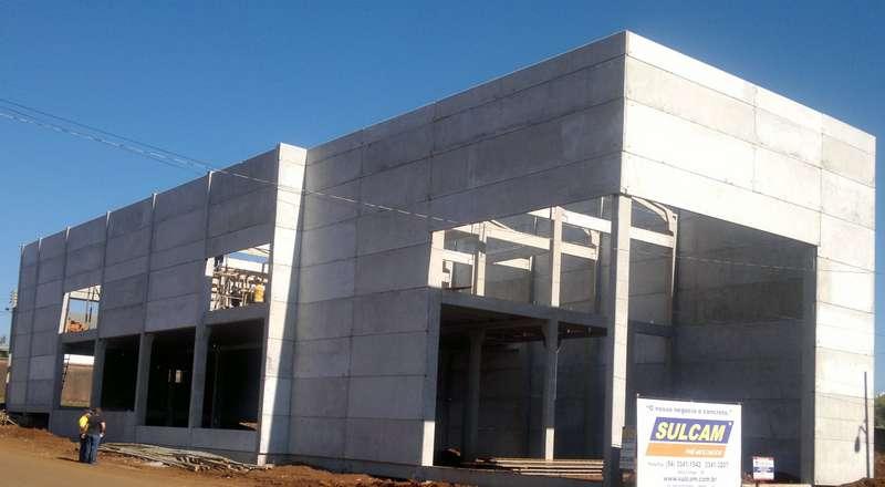 Pavilhão de concreto rs