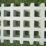 Pisograma bloco de concreto