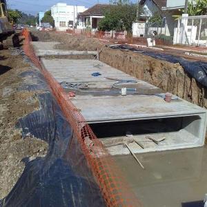 Aduelas de concreto